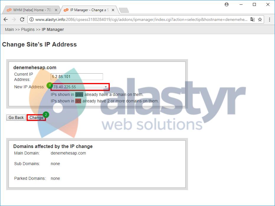 Seo Hosting IP Değiştirme (3)