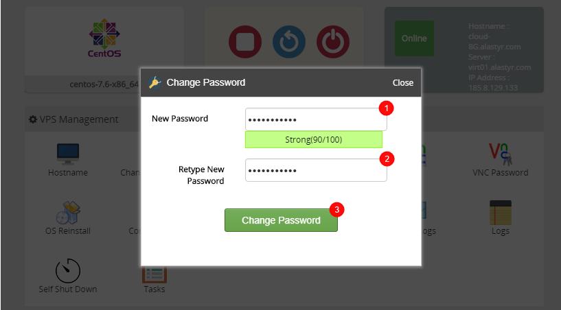 Change Password-1