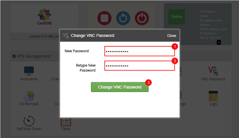 VNC-Password1
