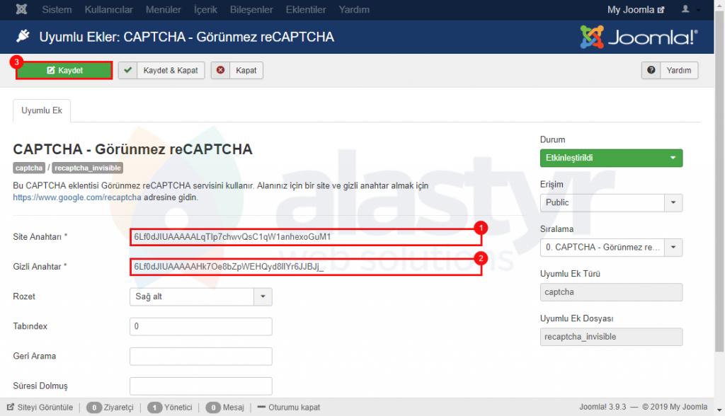 Joomla Captcha-44