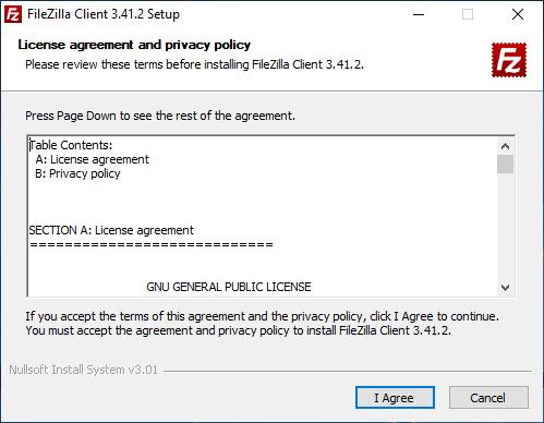 FileZilla Kurulur Aşamaları