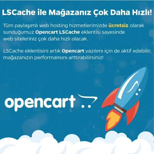 LiteSpeed Cache ile Daha Hızlı OpenCart