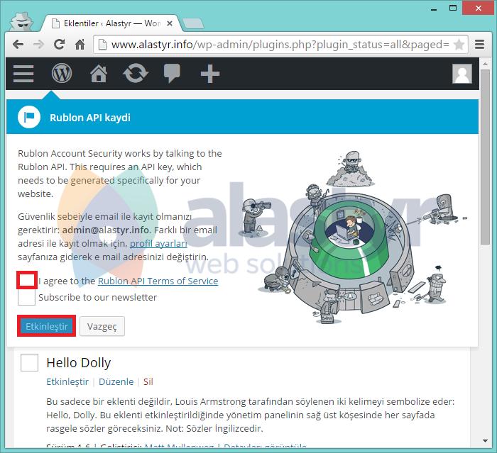 WordPress Rublon