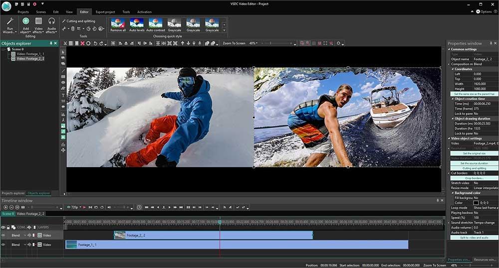 VSDC-ucretsiz-video-kirpma-programi