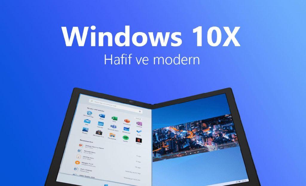 Windows 10X ne zaman çıkacak