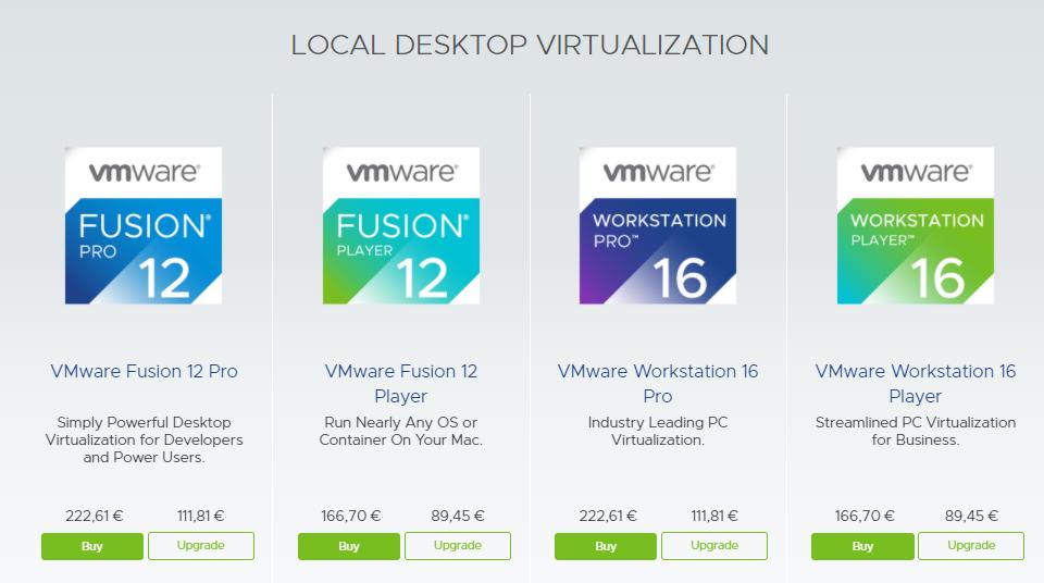 VMware Fiyatları