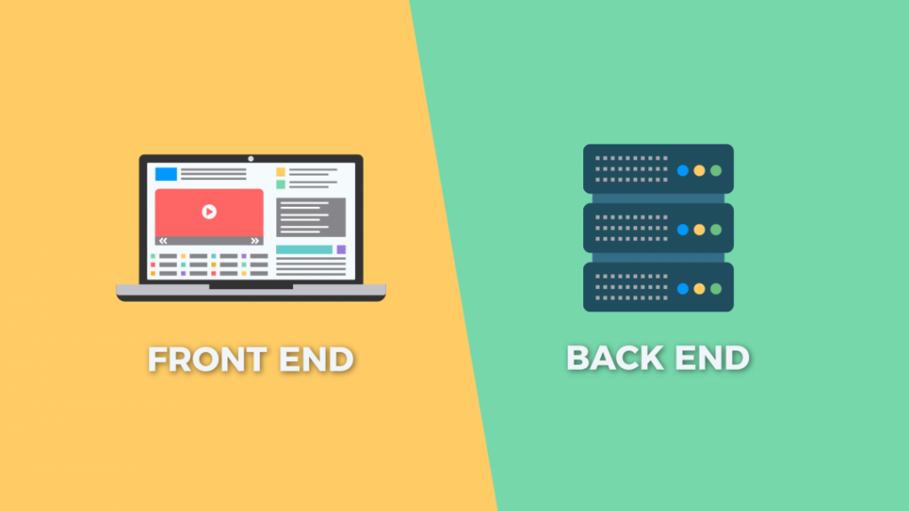 FrontEnd ve backend farkı